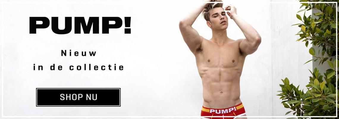 PUMP! Underwear - Nieuwe collectie