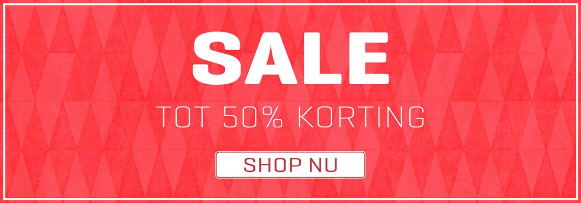 Sale - Tot 50% Korting