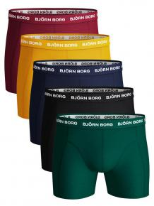 Björn Borg Ess. Cotton Shorts  5-pack