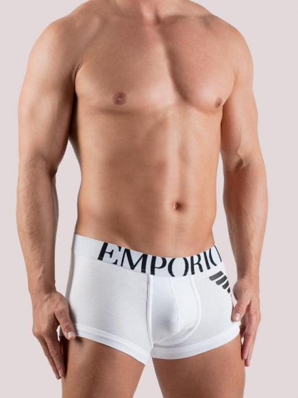 Emporio Armani Eagle Stretch Trunk Wit