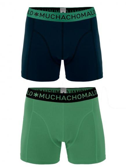 MuchachoMalo Boys 2-pack Short Groen/Zwart