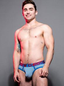 Andrew Christian Hampton Stripe - Brief