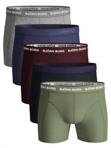 Björn Borg Ess. Cotton Shorts - 5 pack