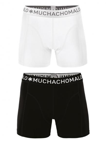 MuchachoMalo 2-pack Shorts Wit/Zwart