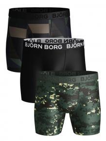 Björn Borg Performance Short - 3 pack