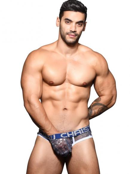 Andrew Christian Sheer Star Sparkle - Brief