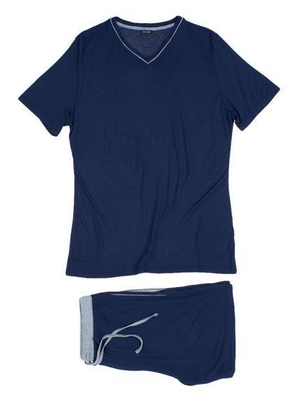 HOM Short Sleepwear - Relax Blauw
