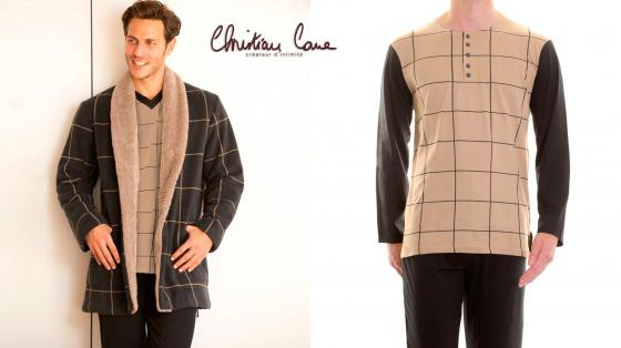 Christian Cane Pyjama Gaspard