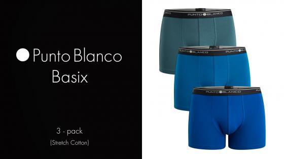 Punto Blanco 3p Boxer Briefs - Basix
