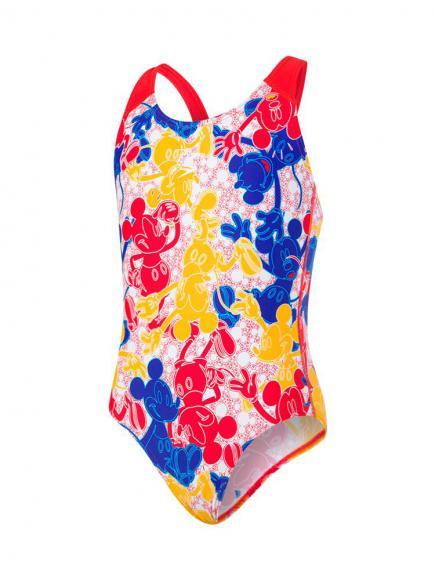 Speedo All. Splashback Mickey 1p blauw rood geel