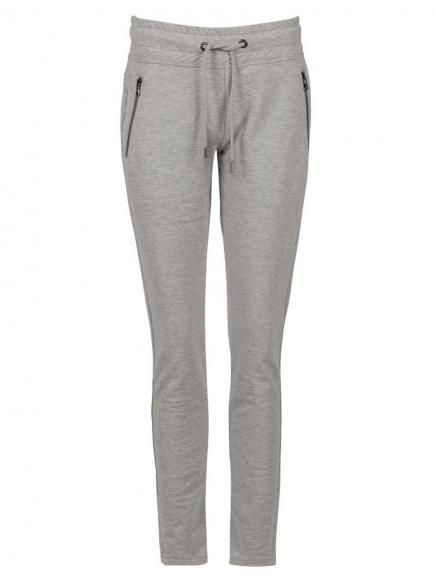 Sapph Mellow Slim Fit Pants Grijs