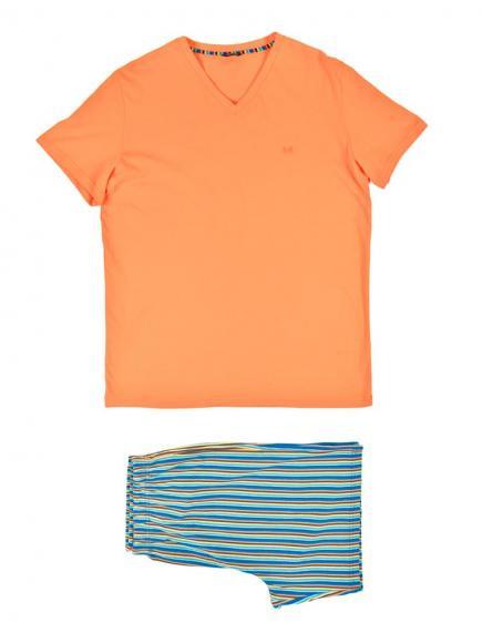 HOM Yogis - Short Sleepwear Oranje