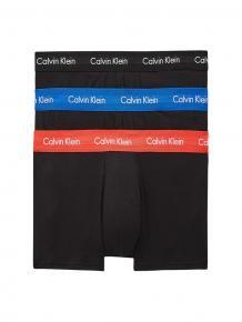 Calvin Klein 3p Low R Trunk - Cotton Stretch