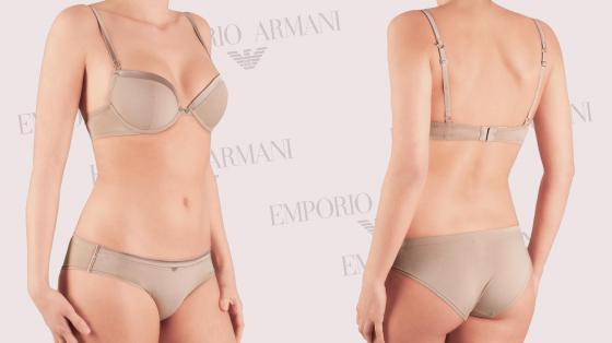 Emporio Armani Sophisticated Cotton BH (push up)