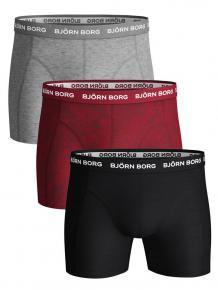 Björn Borg Ess. Core Shorts - Fiji Flower - 3p