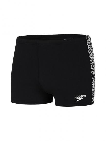 Speedo END Aquashort - Boomstar Splice Wit/Zwart