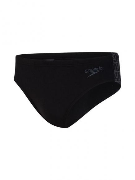 Speedo END Swimbrief 7cm Zwart
