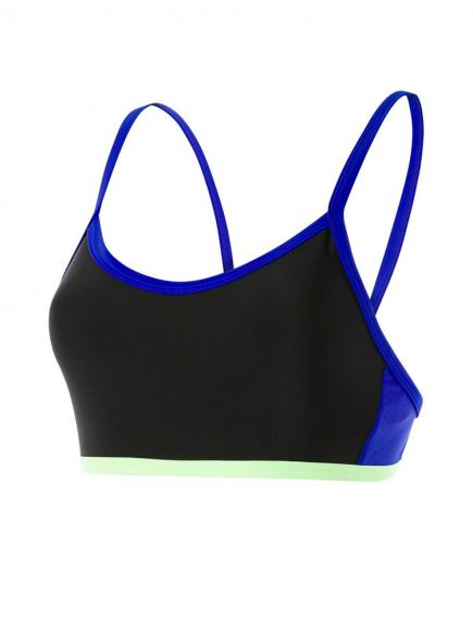 Speedo Hydractive Crop Top Zwart