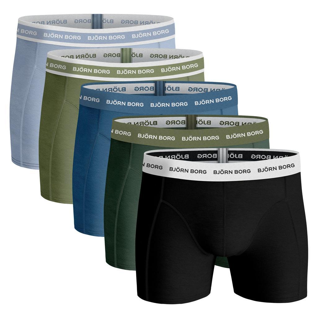 Björn Borg Ess. Cotton Shorts - 5 pack