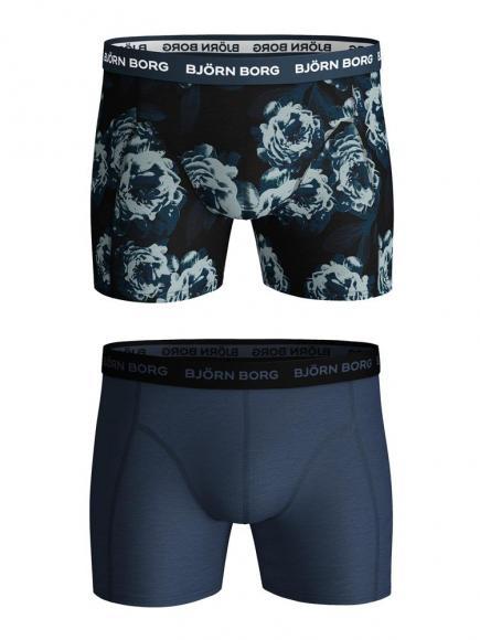 Björn Borg Ess. Cotton Shorts - 2 pack