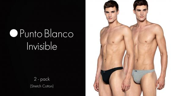 Punto Blanco 2p String - Invisible