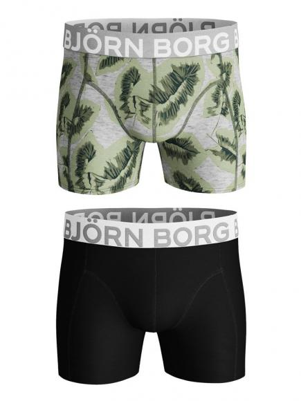 Bj�rn Borg Core Shorts - 2 pack Grijs