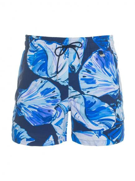 HOM Paradis Beach Boxer Blauw