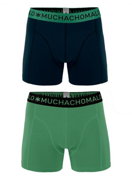 MuchachoMalo Shorts 2-pack Groen/Zwart