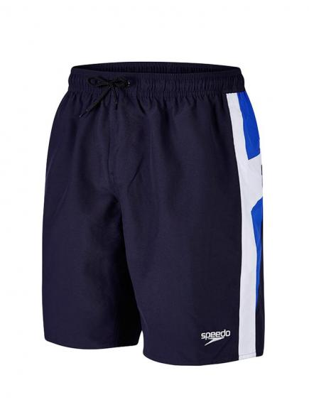 Speedo Logo Yoke Splice Watershort Blauw