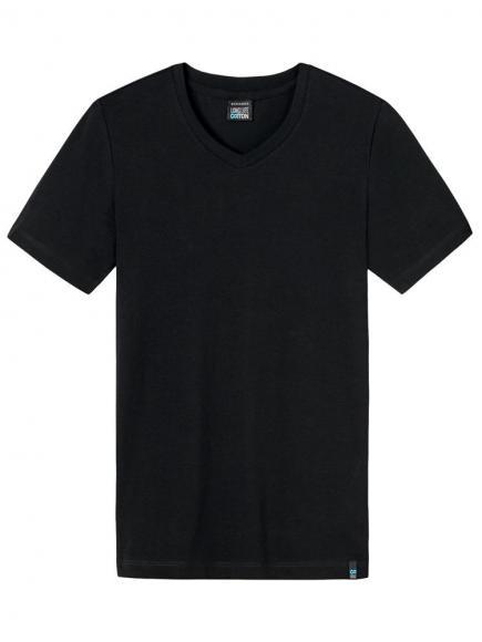 Schiesser Long Life Cotton Shirt 3/4 Zwart