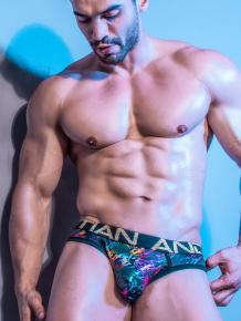 Andrew Christian Disco Spectrum Brief /w Almost Naked