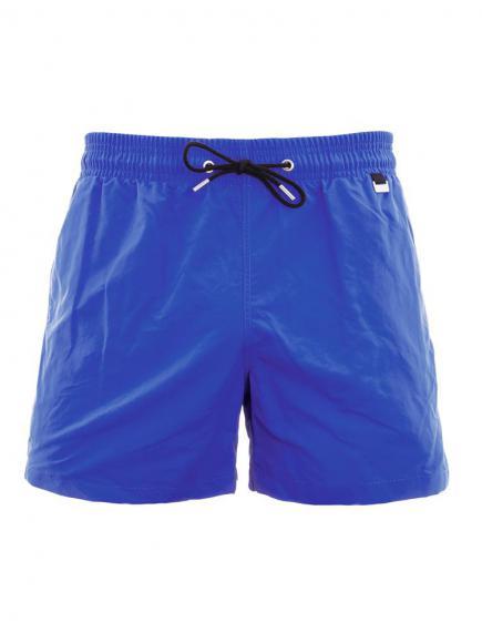 HOM Marina Beach Boxer Blauw