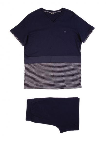 HOM Diego - Short Sleepwear Blauw