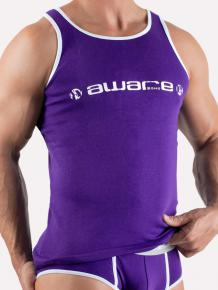 Aware SOHO Tank Aubergine