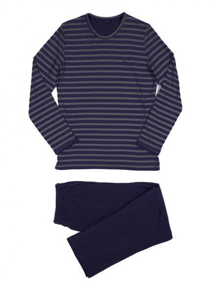 HOM Long Sleepwear - Charismatic Blauw