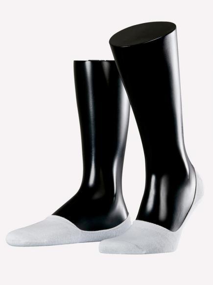 Esprit Basic No Show Socks 2-PACK Wit