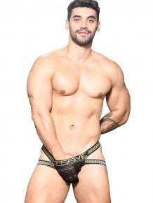 Andrew Christian Sheer Stripe Jock