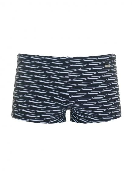 HOM Swell swim shorts Wit/Zwart