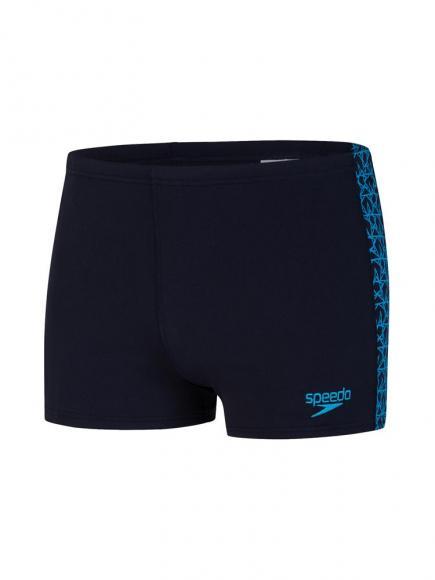 Speedo END Aquashort - Boomstar Splice Blauw