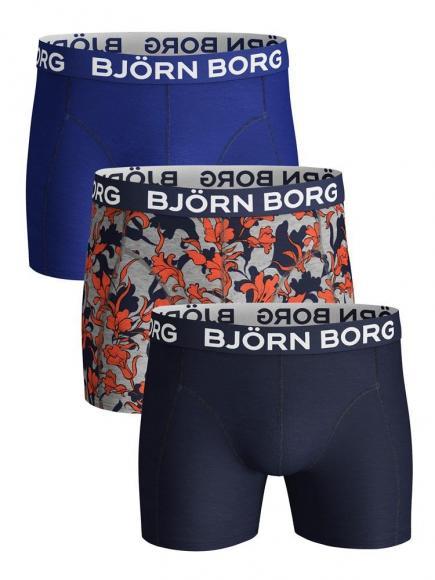 Bj�rn Borg Core Shorts - 3 pack Grijs