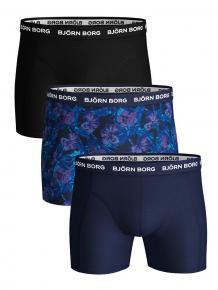 Björn Borg Ess. Cotton Shorts  3-pack