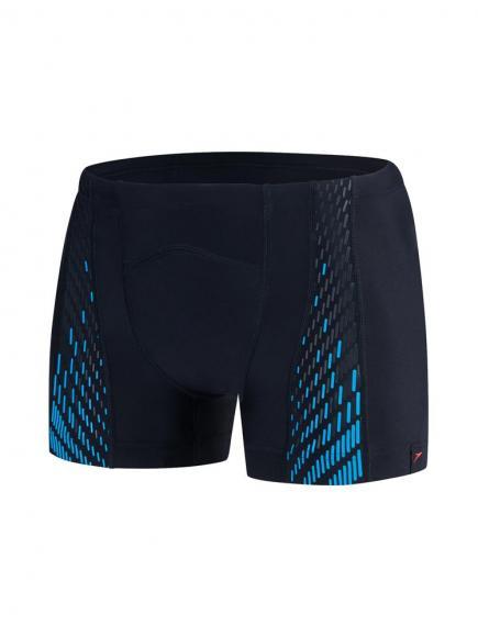 Speedo E10 SpeedoFit Pro Aquashort Blauw/Zwart