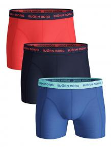 Björn Borg Ess. Cotton Shorts - 3 pack