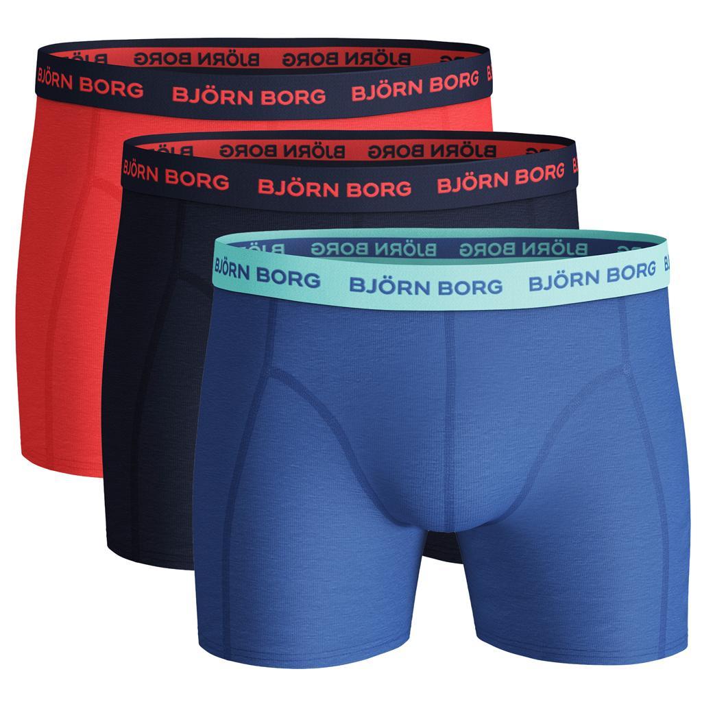 Björn Borg Ess. Cotton Shorts - 3 pack