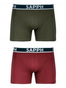 Sapph 2p Cotton Shorts - Conner