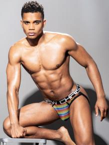 Andrew Christian Disco Pride Brief Jock