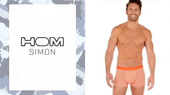 HOM Boxer Briefs HO1 - Simon - Orange