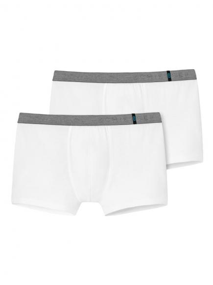 Schiesser 95/5 Shorts 2PACK Wit