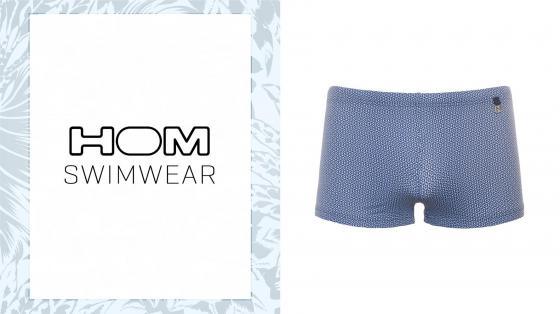 HOM Swim Shorts - Topaz
