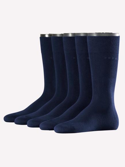 Esprit Uni 5-PACK Blauw